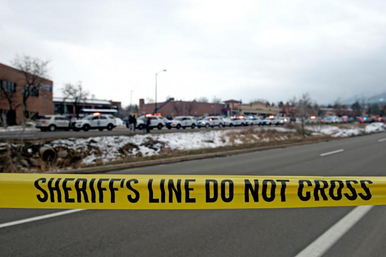 Une fusillade a éclaté dans un supermarché du Colorado lundi 22 mars 2021.