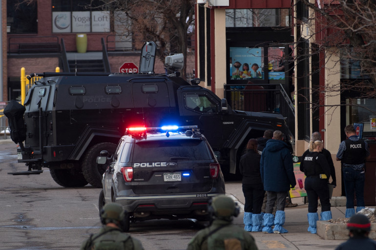 La fusillade survenue le 22 mars 2021 à Boulder dans le Colorado a fait dix morts.