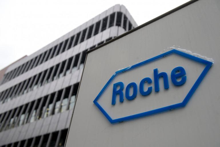 Le siège du groupe pharmaceutique Roche, à Bâle, en Suisse (illustration)