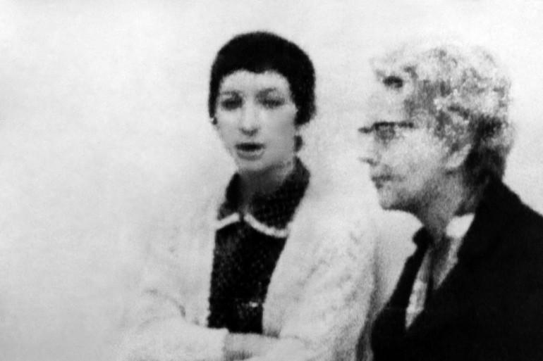 Gabrielle Russier à la cour d'appel d'Aix-en-Provence, en juillet 1969.