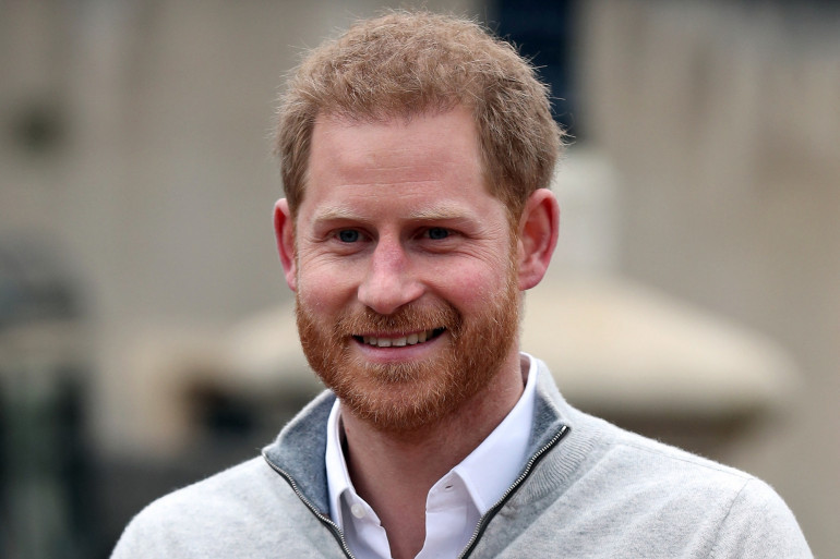 Le prince Harry le 6 mai 2019.