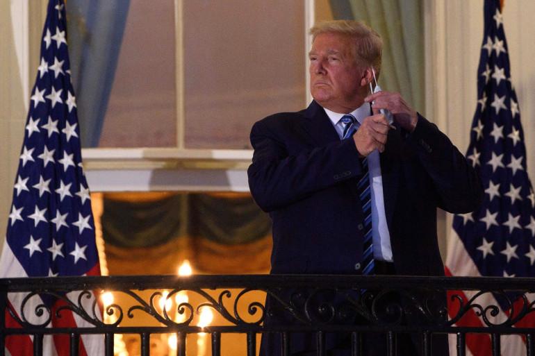 L'ancien président américain Donald Trump, à la Maison Blanche