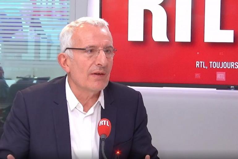 Le président d'Initiative France, Guillaume Pepy, sur RTL, le 23 mars 2021