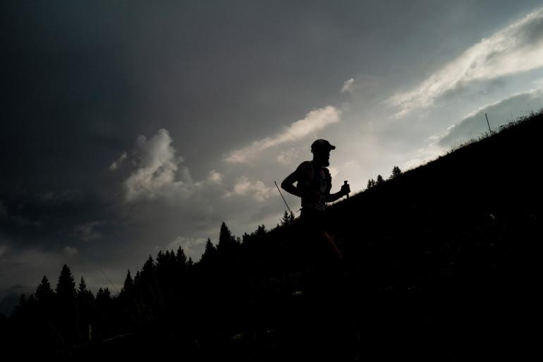 Un coureur sur un autre ultra-trail, l'UTMB (illustration)