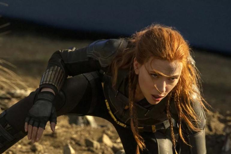 """Scarlett Johansson dans le film """"Black Widow"""""""