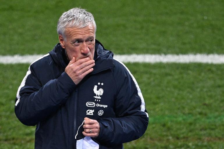 Didier Deschamps au Stade de France le 24 m