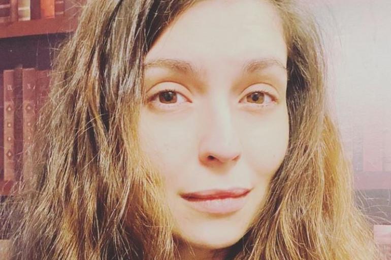 Lucie Bernardoni-Maktav a reçu sa première dose du vaccin AstraZeneca