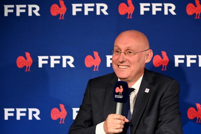 Bernard Laporte le 3 octobre 2020 à Marcoussis