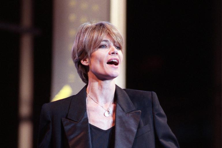 Françoise Hardy en décembre 1988
