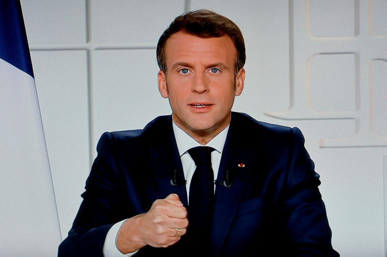 Emmanuel Macron, le 31 mars 2021