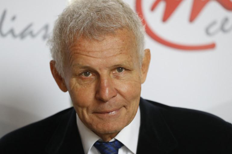 L'animateur de télévision et écrivain Patrick Poivre d'Arvor à l'association Cercle des Médias, le 2 décembre 2016 à Paris.