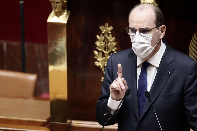 Jean Castex à l'Assemblée nationale, le 1er avril 2021