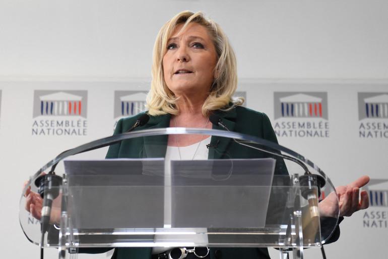 """La cheffe du RN s'était déjà mise """"en congé"""" de la présidence du parti, entre les deux tours de la présidentielle de 2017."""