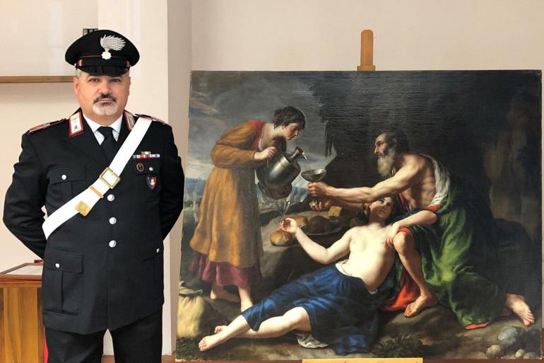 Un tableau de Nicolas Poussin, volé à ses propriétaires en 1944 à ses propriétaires a été retrouvé en Italie.
