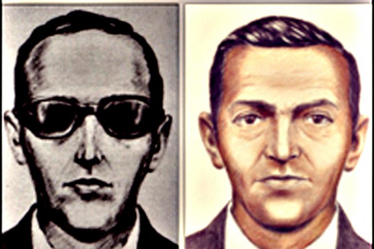 Portrait robot de Dan Cooper diffusé par le FBI