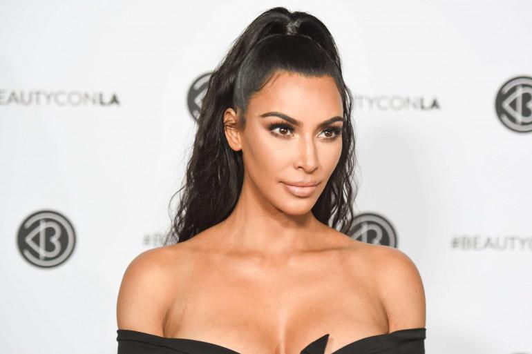 Kim Kardashian à Los Angeles, le 15 juillet 2018