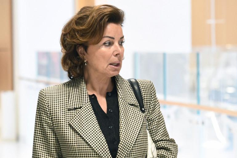 Dominique Tapie en 2019 lors du procès de Bernard Tapie à Paris