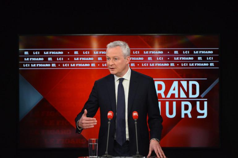 Bruno Le Maire dans Le Grand Jury RTL