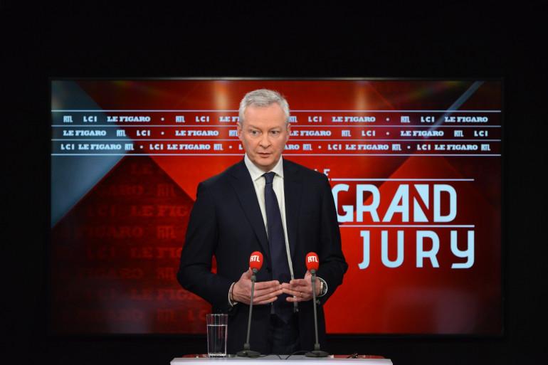Bruno Le Maire au micro de RTL