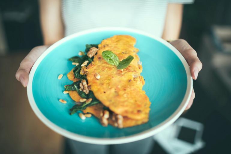 Une omelette pour se faire plaisir (illustration)