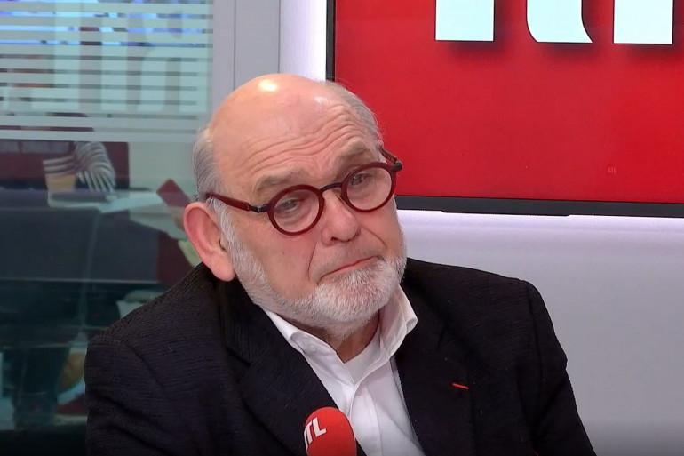 Robert Hue, ancien président du Parti communiste français, invité sur RTL