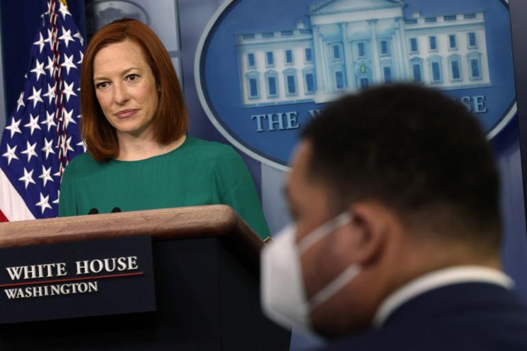 La porte-parole de la Maison Blanche, Jen Psaki