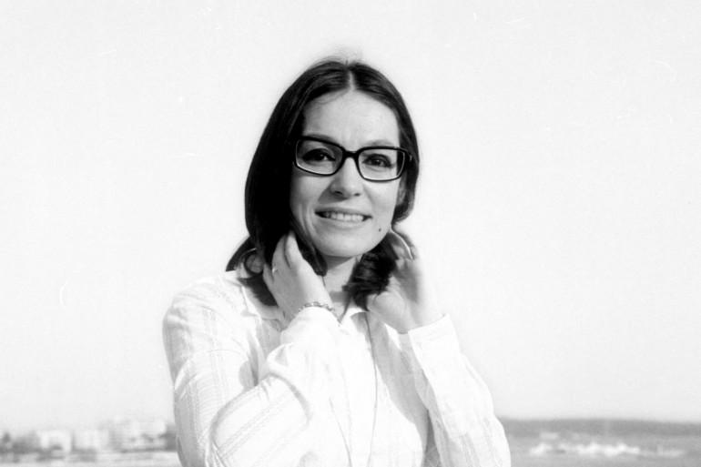 Nana Mouskouri à Cannes en 1969