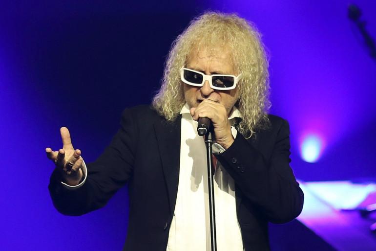 Michel Polnareff lors d'un concert à Nice en 2016