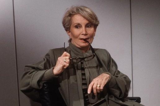 Fernande Grudet alias Madame Claude le 5 mai 1986 à Paris (archive)