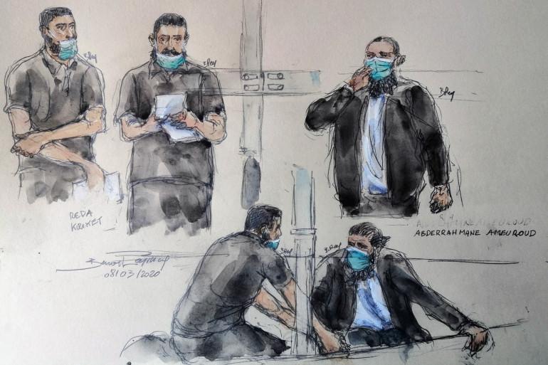 Esquisse du procès pour le projet d'attentat déjoué en France avant l'Euro 2016