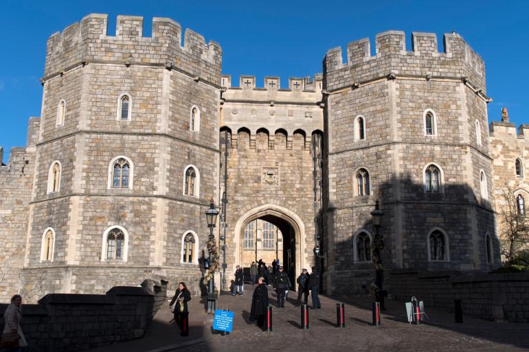 Le château de Windsor, où auront lieu les funérailles du prince Philip.