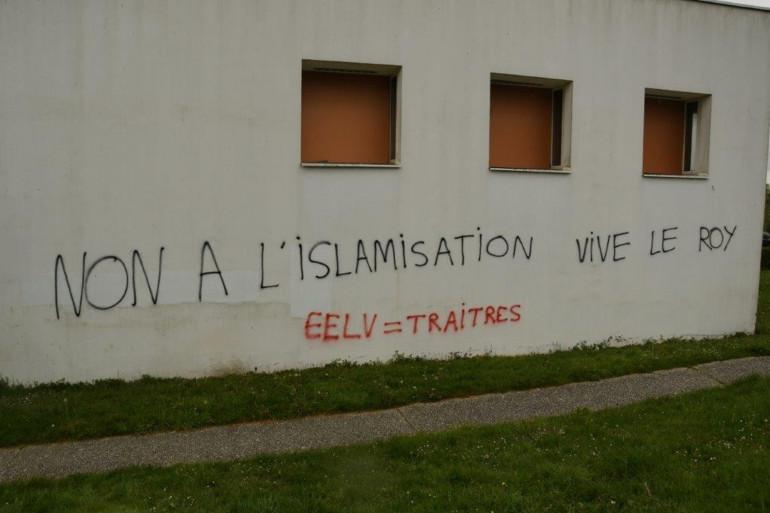 Le centre musulman Avicenne a été tagué.