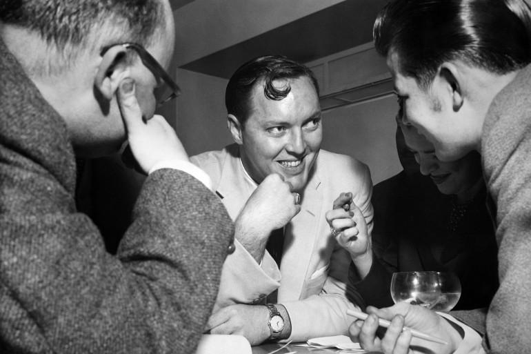 Bill Haley à Londre en 1957