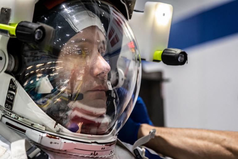 L'astronaute Thomas Pesquet, le 19 juin 2020
