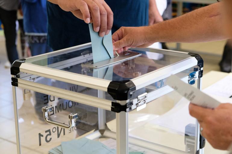 Bureau de vote. (Illustration)