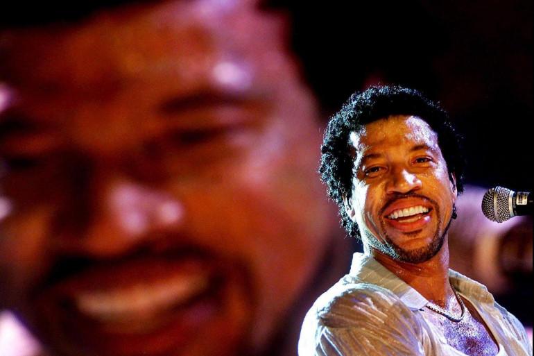 Lionel Richie en 2001 à Rotterdam