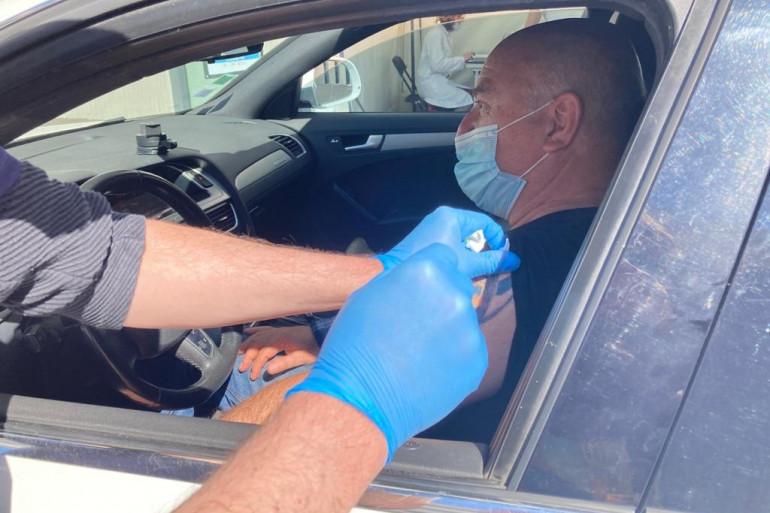 Le premier vaccidrive vient d'ouvrir à Saint-Jean-de-Védas près de Montpellier.