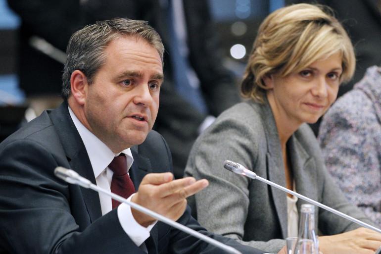 Xavier Bertrand et Valérie Pécresse, le 22 septembre 2011