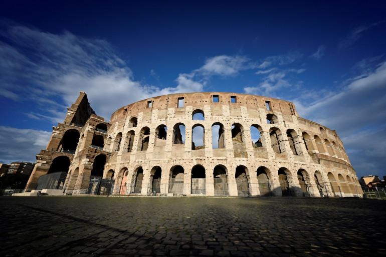 Le Colisée de Rome (illustration)