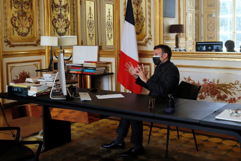 Emmanuel Macron, le 6 avril 2021