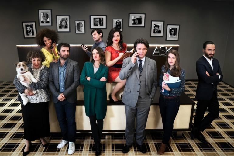 """Le casting de la série """"Dix pour Cent"""" diffusée sur France 2"""