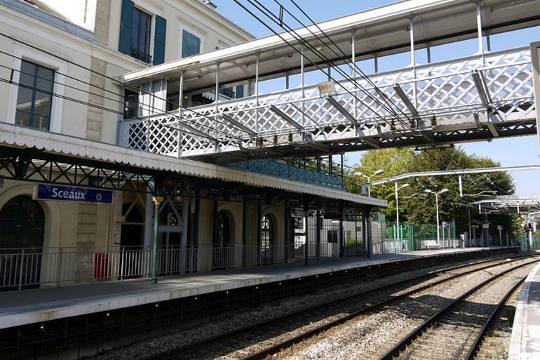 La gare RER de Sceaux (Hauts-de-Seine).