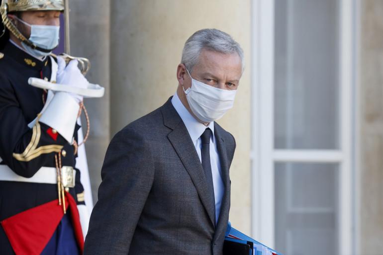 Le ministre de l'Économie Bruno Le Maire le 18 novembre 2020 à Paris