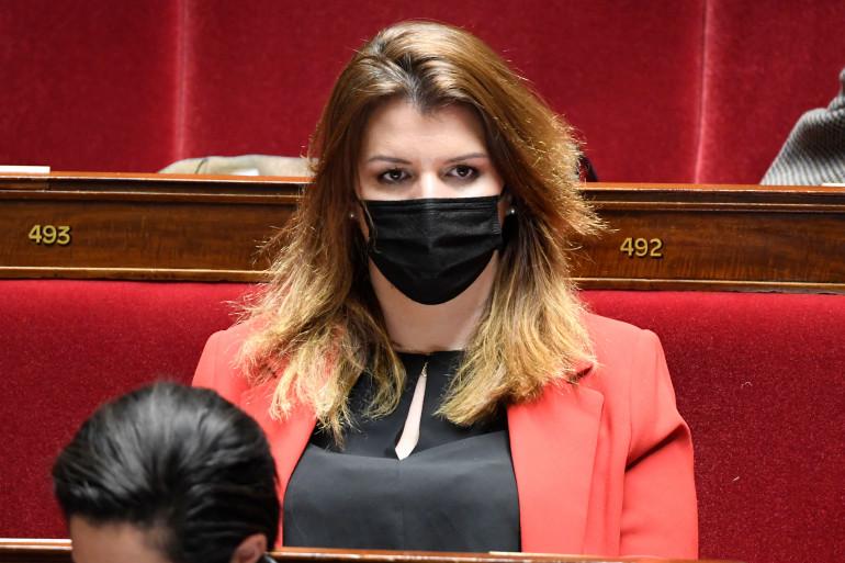 Marlène Schiappa, le 30 mars 2021 à l'Assemblée nationale
