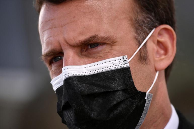 Emmanuel Macron, le 2 avril 2021