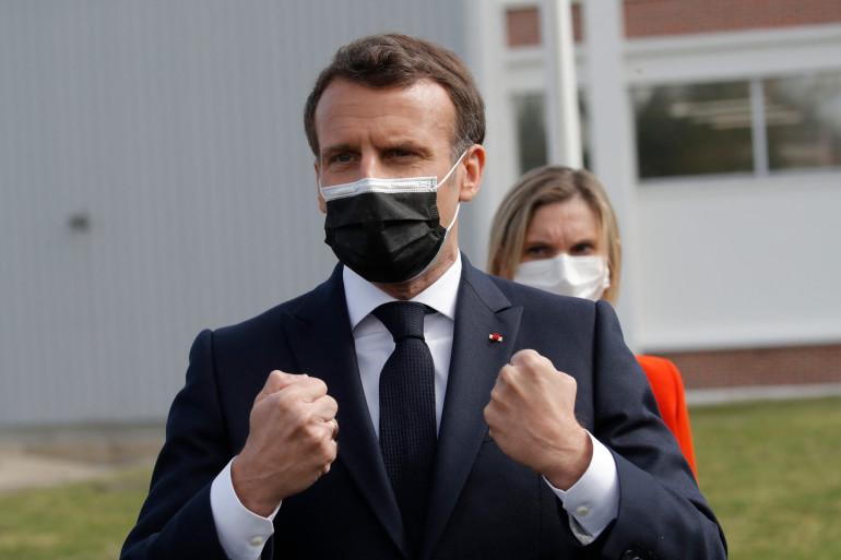 Emmanuel Macron le 9 avril 2021(illustration)
