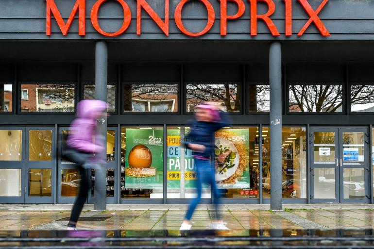 Un supermarché Monoprix à Dunkerque (illustration)