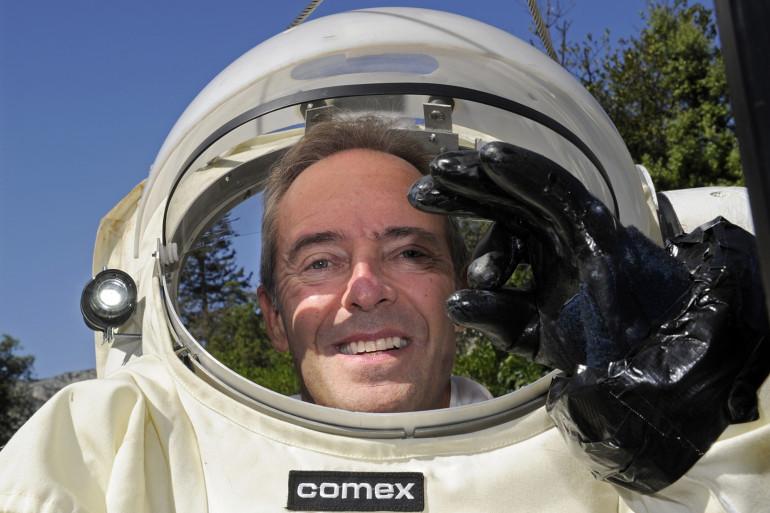L'astronaute Jean-François Clervoy.