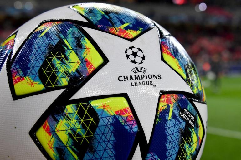 Un ballon de la Ligue des Champions de l'UEFA (illustration)
