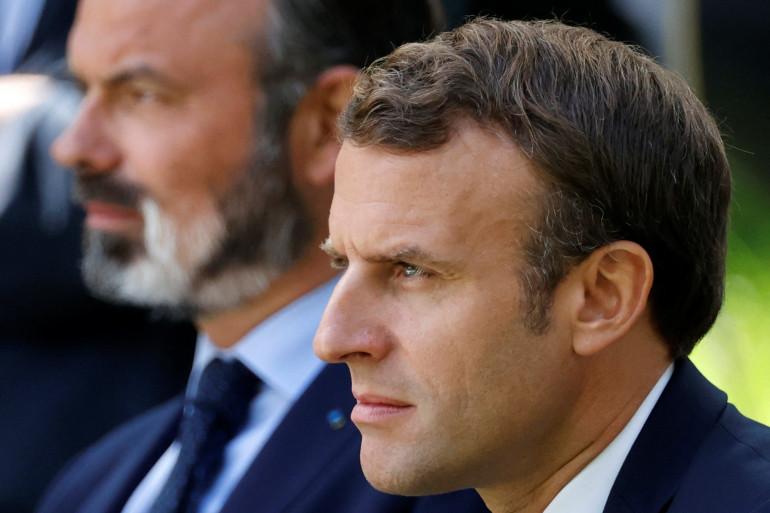 Édouard Philippe et Emmanuel Macron, le 29 juin 2020